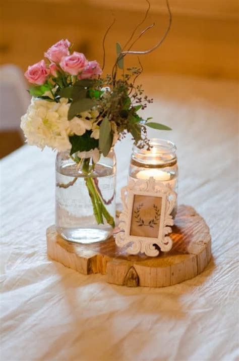 47 best mason jar centerpieces images on pinterest