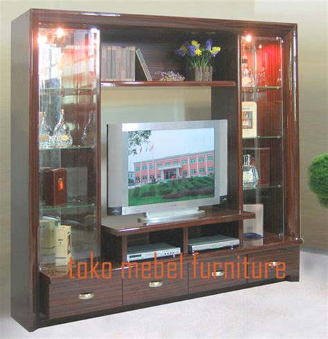 Bufet Tv Partisi Minimalis Koin Kayu Jati bufet tv mewah bufet tv kayu jati model minimalis toko mebel furniture