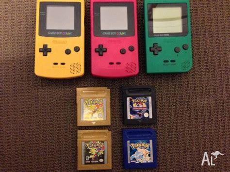 gameboy color for sale nintendo gameboy color pocket and for sale