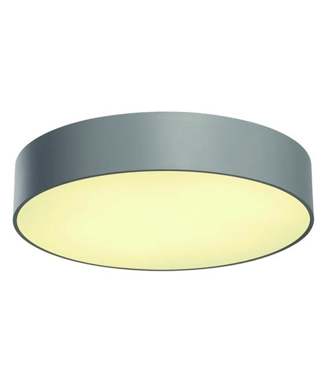large aluminium modern ceiling fitting