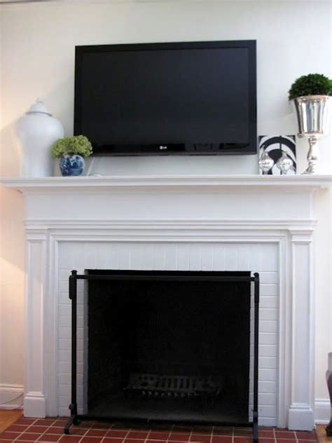 simple mantle decor apartment therapy pinterest