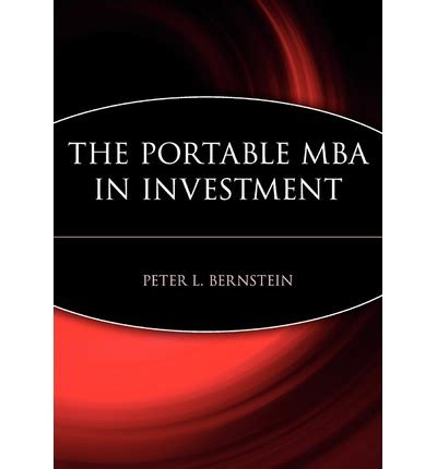 The Portable Mba In Entrepreneurship by The Portable Mba In Investment L Bernstein