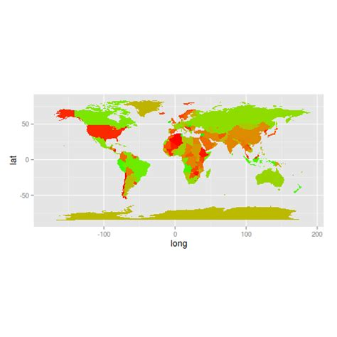 ggplot2 theme for maps r plot colour coded world map using ggplot2 stack overflow