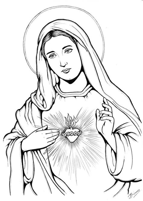 imagen virgen maria en blanco y negro bianco design gr 225 fico e ilustra 231 227 o