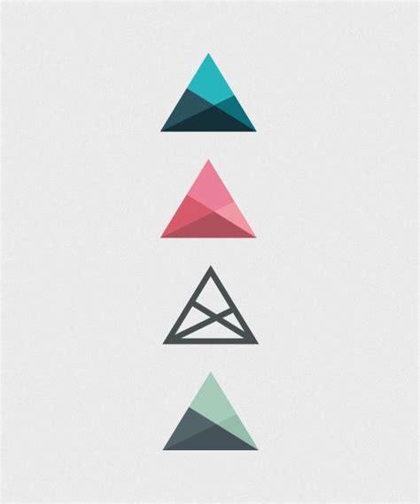 triangle pattern architecture les 25 meilleures id 233 es concernant triangle logo sur
