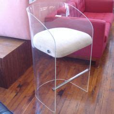 four lucite swivel bar stools ghost style bar stools
