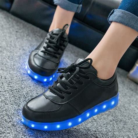 glow up shoes led shoes for fashion light up casual shoes for