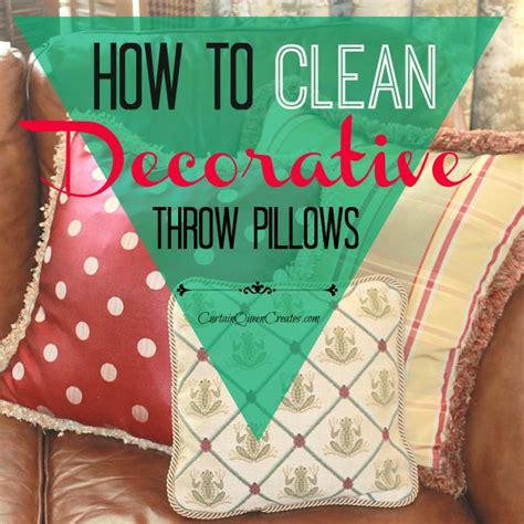 how to wash couch pillows how to clean sofa pillows how to clean decorative throw