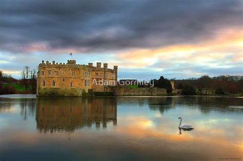 leeds castle kent england  adam gormley redbubble