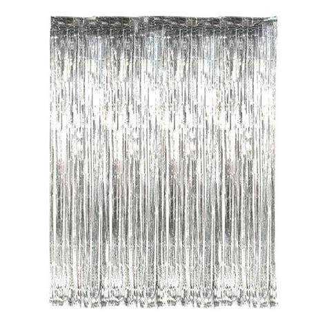 silver foil curtain little boo teek silver foil curtain wedding supplies