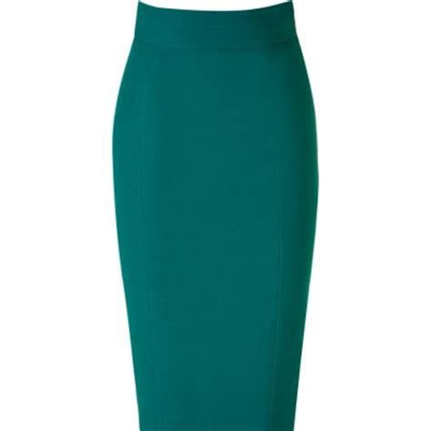 emerald green high waist pencil skirt elizabeth s custom