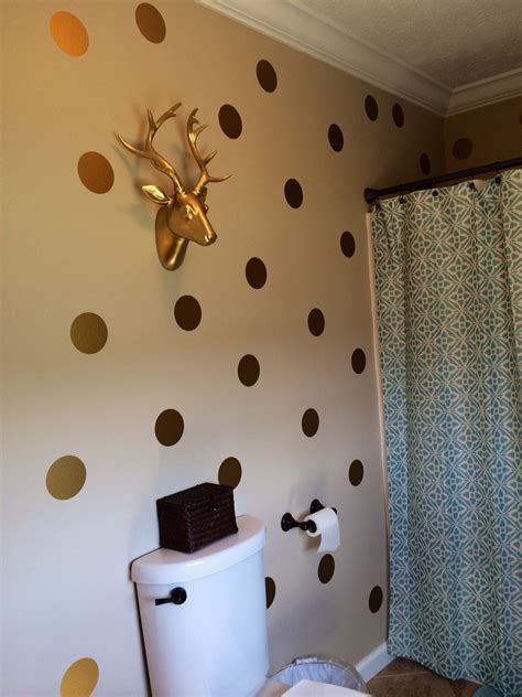gold dot wall decals gold polka dots vinyl wall decals gold decals gold dot