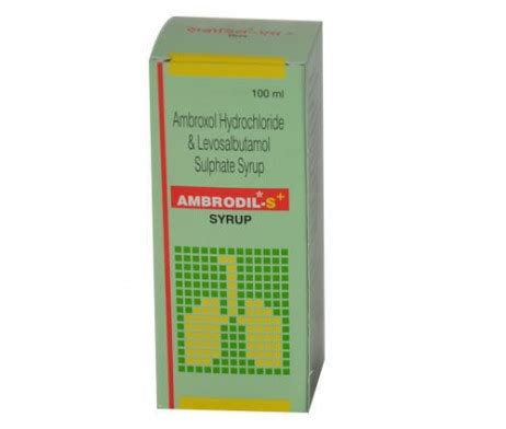 Plus Syrup ambrodil s plus syrup uses side effects buy price discount