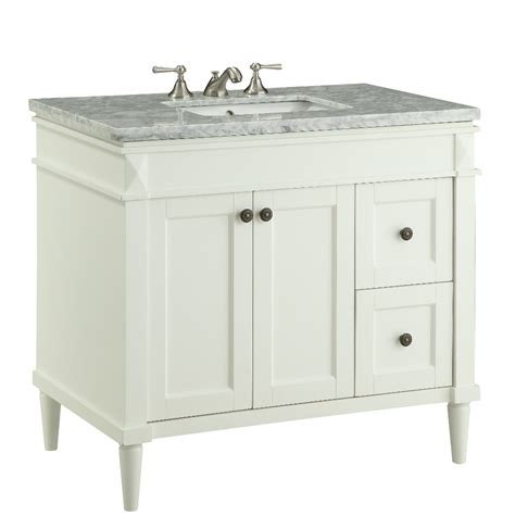 35 inch bathroom vanity 35 5 inch bathroom vanity transitional style white color