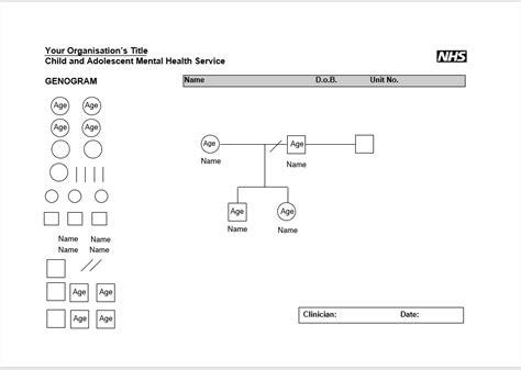 8 free genogram diagram templates ms word templatehub