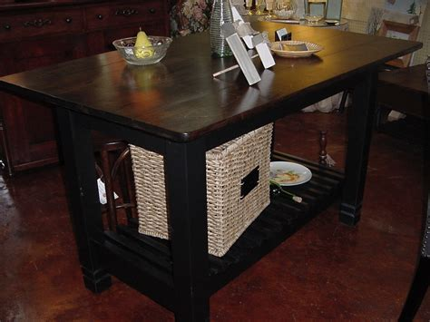 Handmade Kitchen Island - handmade kitchen island table with shelf just tables