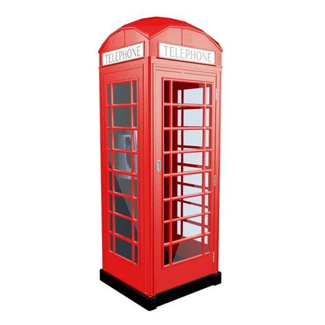 Telephone Box telephone box 3d model