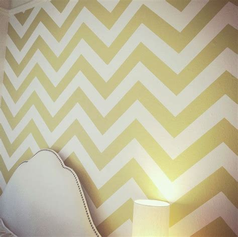 zig zag pattern on wall chevron pattern wall decal rental room ideas pinterest