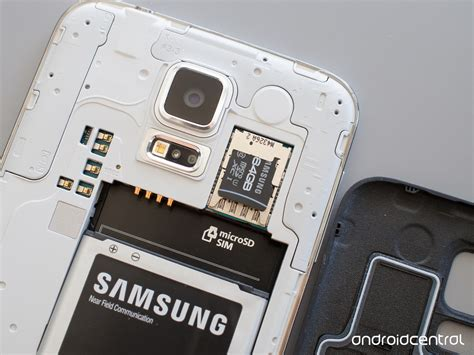Rugged Flip Phone How To Insert And Replace The Sd Card On The Galaxy S5
