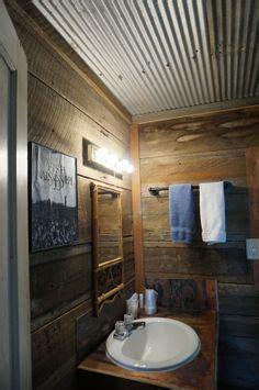 rustic corrugated metal ceiling  view