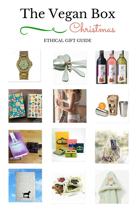 ethical christmas gifts ethical gift buying this the vegan box