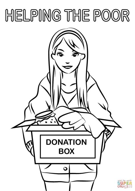 homeless person coloring page coloring page helping the homeless coloring pages