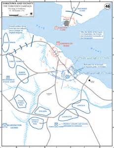 yorktown map home battle studies yorktown ay14 15 research