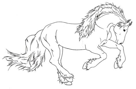 draft horse running by requay on deviantart