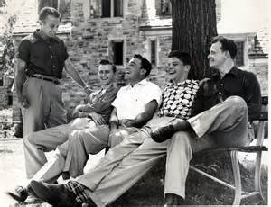 1950s rhodes college digital archives dlynx boys sitting on