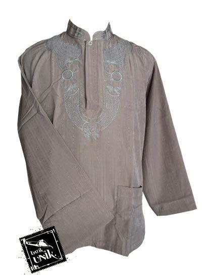 Baju Koko Panjang Aplikasi baju batik koko exclusive aplikasi bordir kemeja panjang