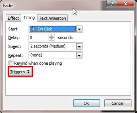 tutorial trigger powerpoint trigger animations in powerpoint 2007 for windows