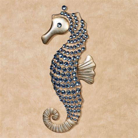 Seahorse Wall Decor by Seahorse Gems Metal Wall