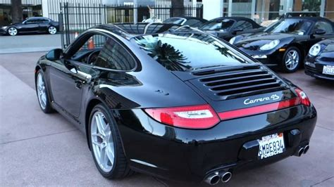 porsche carrera 2010 2010 porsche 911 carrera 4s coupe pdk black on black full