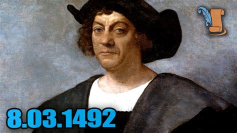 christopher columbus biography on youtube a day in history christopher columbus discovers the