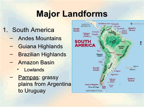 america map landforms mslanger5ss geography of the western hemisphere