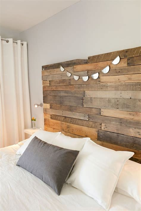 how to make a headboard out of wood and fabric best 25 reclaimed wood headboard ideas on pinterest