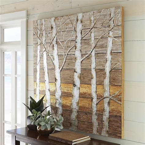 Pier One Dining Room by Metallic Birch Trees Wall Art Pier 1 Imports