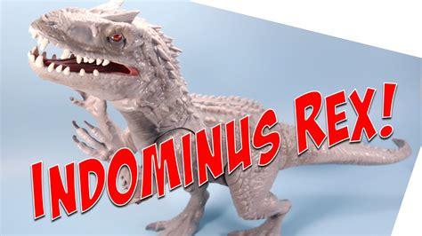 jurassic world giant indominus rex dinosaur opening review youtube