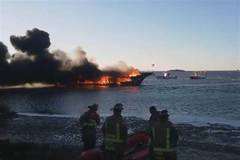 casino boat new york casino boat catches fire with 50 passengers aboard