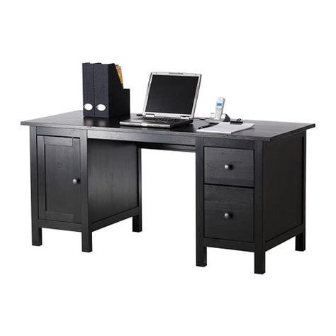 hemnes desk black brown ikea from ikea