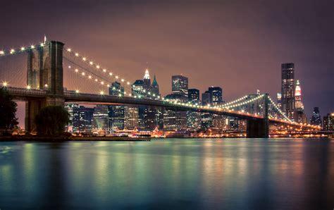 Im To New York 2 by New York Bei Nacht Foto Bild America United