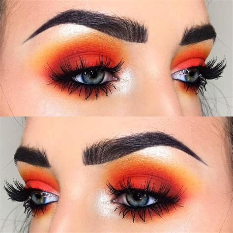 Eyeshadow Orange 25 best ideas about orange eyeshadow on