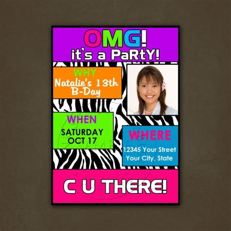 birthday invitation ideas for tweens discover and save creative ideas