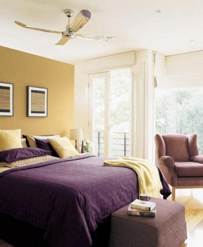 Yellow Purple Bedroom by Purple And Yellow Bedroom Colors For The Home