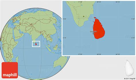 earth map sri lanka savanna style location map of sri lanka