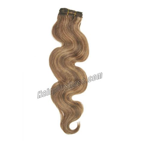 30 inch 4 27 brown 20 inch 4 27 brown wave indian remy hair wefts