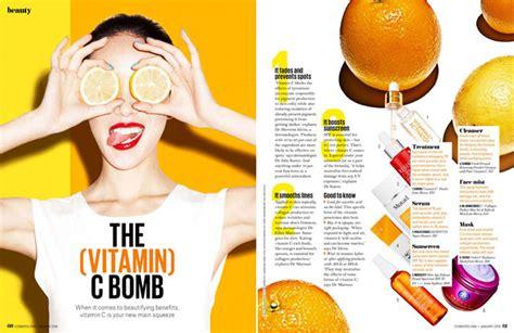vitamin c photography the vitamin c bomb for cosmopolitan australia january