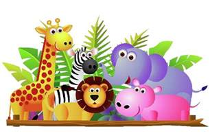 Coloring Book Cat Zoo Animals Clipart Many Interesting Cliparts