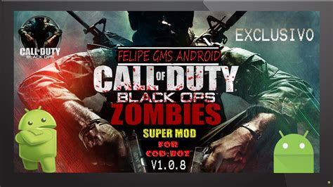 call of duty zombies apk mod exclusivo mod by felipe gms android para call of duty black ops zombies apk data v1 0 8