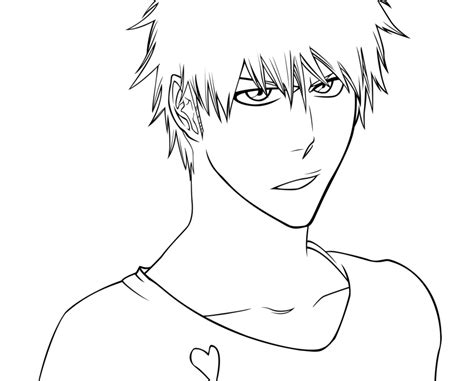 bleach coloring pages coloring home